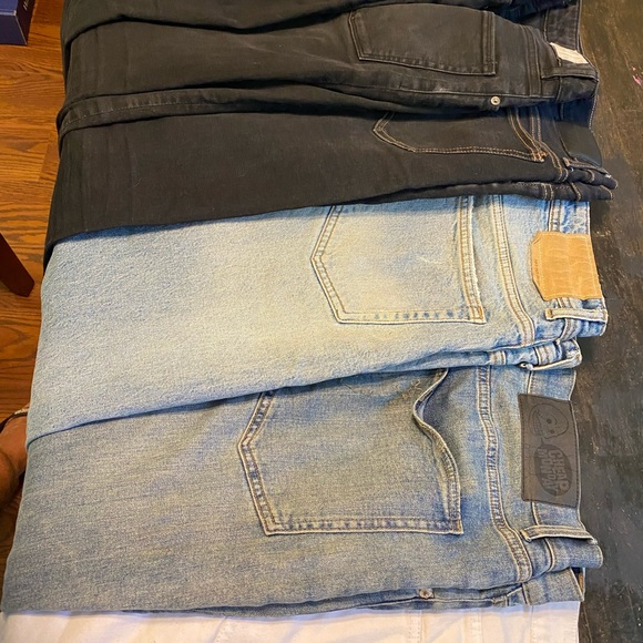 NEXT MATERNITY BLUE DENIM DISTRESSED SLIM FIT SLOUCH JEANS ALL SIZES BNWT £32